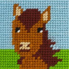 Children canvas kit - Jumper, un amour de cheval
