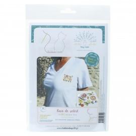 Embroidery kit - Bain de soleil
