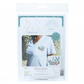 Embroidery kit - Flower power
