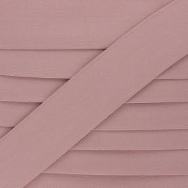 Flat elastic - powder pink Lorna x 1m