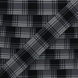 Flat elastic - grey Addison x 50cm