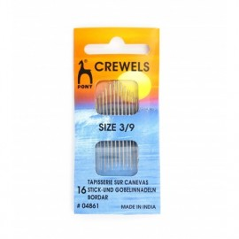 Crewels needles size n°3/9 PONY (pack of 16)