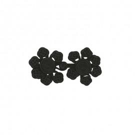 Duffle coat toggle - black Atessa