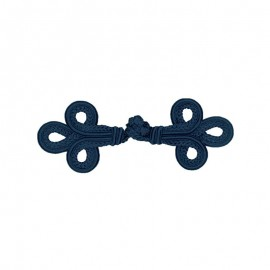 Duffle coat toggle - navy blue Vivara