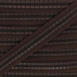 35 mm polyester strap - brown Karl x 50cm
