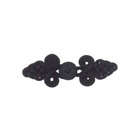 Duffle coat toggle - black Cara