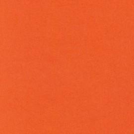 Flanelle unie Tangerine