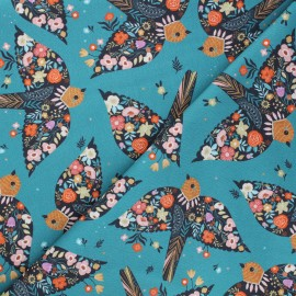 Tissu coton Dashwood Studio Good vibes - Birdy x 10cm