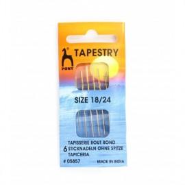 Tapestry needles size 18/24  PONY