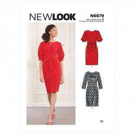 Patron Robe Fluide - New Look 6679