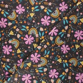 Cotton Dashwood Studio fabric - Rainbow garden Good vibes x 10cm