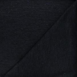 Openwork lurex knitted fabric - night blue Nino x 10cm