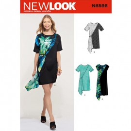 Sheath Dress Sewing Pattern for Woman - New Look 6261