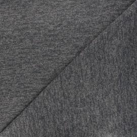 Openwork lurex knitted fabric - grey Nino x 10cm