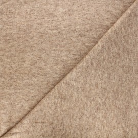 Knitted fabric - mottled camel Caramella x 10cm