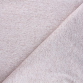 Knitted fabric - mottled water pink Caramella x 10cm