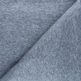 Tissu maille Caramella  - gris chiné x 10cm