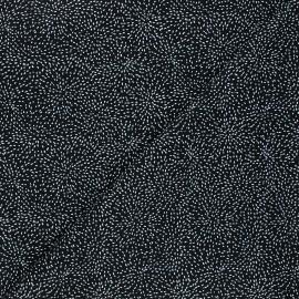 Tissu coton Timeless Treasures - Moving tiny dot - noir x 10cm