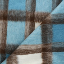Coat sheet fabric - light blue Nelson x 10cm