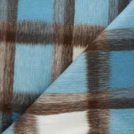 Tissu drap manteau Nelson - bleu clair x 10cm