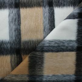 Coat sheet fabric - camel brown Nelson x 10cm