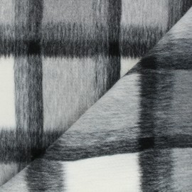 Coat sheet fabric - grey Nelson x 10cm
