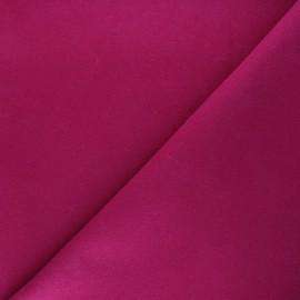 Tissu drap manteau uni Moscou - violine x 10cm