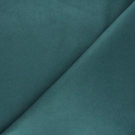 Tissu drap manteau uni Moscou - vert sapin x 10cm
