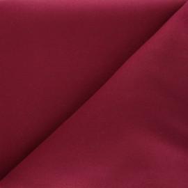 Plain coat sheet fabric - fuchsia Moscou x 10cm