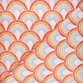 Tissu coton Dashwood Studio Good vibes - Rainbow x 10cm