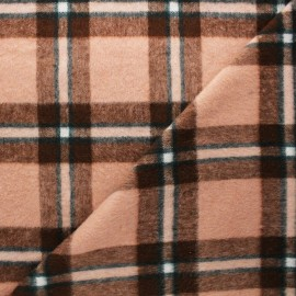 Wool fabric - light pink Ally x 10cm
