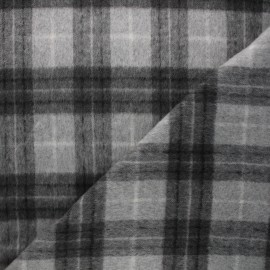 Wool fabric - light grey Dorian x 10cm