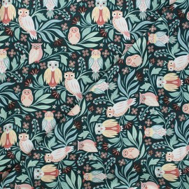 Dear Stella cotton fabric Frond of you - dark green Only have eyes for you x 10cm