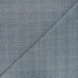 Polyviscose elastane fabric - white Doug x 10cm