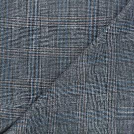 Lurex polyviscose elastane fabric - silver Enola x 10cm