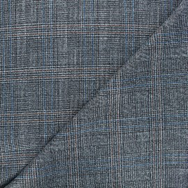 Tissu polyviscose élasthanne lurex Enola - argent x 10cm