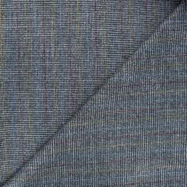 Lurex polyviscose elastane fabric - silver Elwin x 10cm
