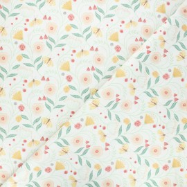 Dear Stella cotton fabric Frond of you - raw You grow girl x 10cm