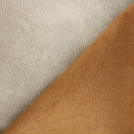Cuir recyclé Pawnee - sable x 10cm
