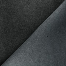 Cuir recyclé Pawnee - noir x 10cm