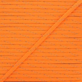 9mm Braided cord - neon orange Fluoria x 1m