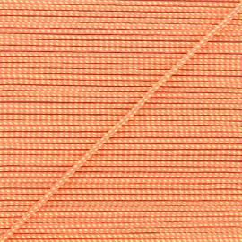 Cordon tressé Sportivo 3mm - orange fluo x 1m