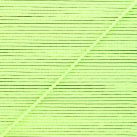 Cordon tressé Sportivo 3mm - vert fluo x 1m