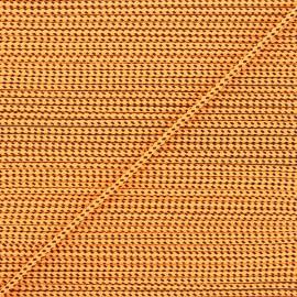Cordon tressé Sportivo 3mm - orange x 1m