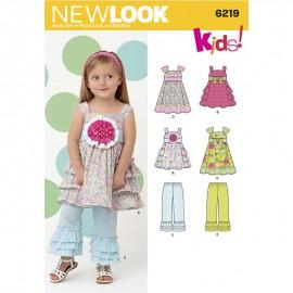 Patron Ensemble Enfant - New Look 6219