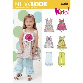 Sewing Pattern Set for Kids - New Look 6219
