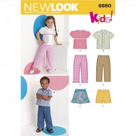 Summer Sewing Pattern Set for Kids - New Look 6880