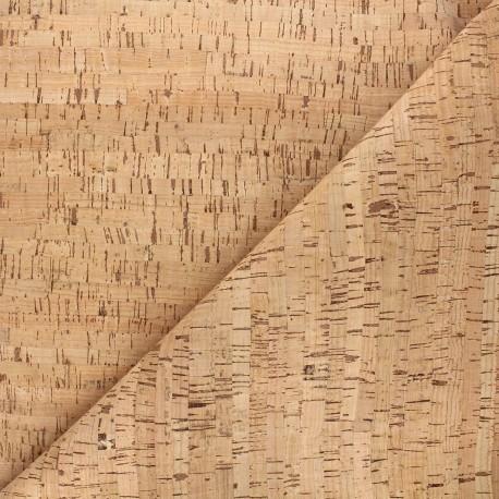 Tissu liège Kaleo - naturel x 10cm