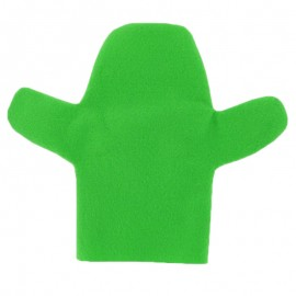Felt puppet to personalize - green Hand