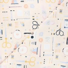 Dear Stella cotton fabric Sew on & sew forth - Sew on & sew forth x 10cm